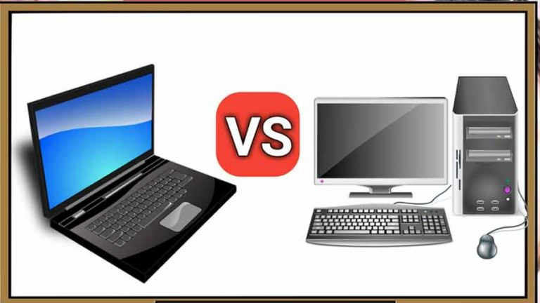 Computer vs laptop in hindi